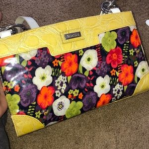 Miche floral purse shell.
